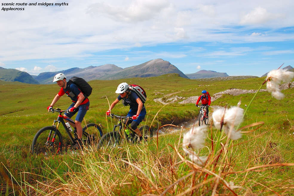 scenic route and midges myths